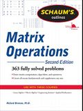 Shaum's Outlines of Matrix Operations