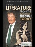 English Literature from the 19th Century Through Today