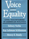 Voice and Equality: Civic Voluntarism in American Politics