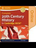 Complete 20th Century History for Cambridge Igcse: Online Student Book