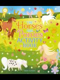 The Horses and Ponies Activity Book