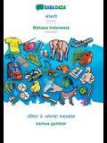 BABADADA, Konkani (in devanagari script) - Bahasa Indonesia, visual dictionary (in devanagari script) - kamus gambar: Konkani (in devanagari script) -