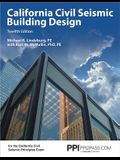 Ppi California Civil Seismic Building Design, 12th Edition (Paperback) - Comprehensive Guide on Seismic Design for the California Civil Seismic Princi