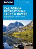 Moon Outdoors California Recreational Lakes & Rivers