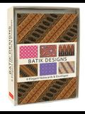 Batik Note Cards: 6 Blank Note Cards & Envelopes (4 X 6 Inch Cards in a Box)
