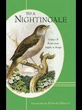 To a Nightingale: Sonnets & Poems from Sappho to Borges