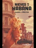 Nieves en La Habana