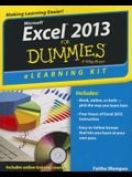 Microsoft Excel 2013 for Dummies: eLearning Kit [With CDROM]