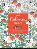 Posh Adult Coloring Book: Peanuts for Inspiration & Relaxation, Volume 21