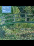 Adult Jigsaw Puzzle National Gallery Monet: Bridge Over Lily Pond: 1000-Piece Jigsaw Puzzles