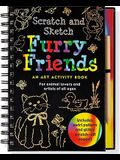 Furry Friends: An Art Activity Book for Animal Lovers and Artists of All Ages [With Wooden Stylus for Drawing]