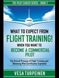 What to Expect from Flight Training! When You Want to Become a Commercial Pilot: The Overall Process of Flight Training and Obtaining Pilot Certificat