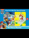 Nickelodeon Paw Patrol: Little First Look and Find Book & Puzzle