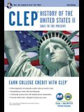 CLEP(R) History of the U.S. II Book + Online