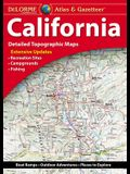 Delorme Atlas & Gazetteer: California