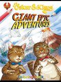 Oskar & Klaus: Giant Epic Adventures Coloring Book