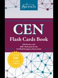 CEN Flash Cards Book: CEN Review with 300+ Flashcards for the Certified Emergency Nurse Exam
