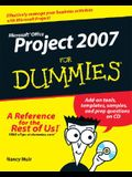Microsoft Office Project 2007 for Dummies [With CDROM]