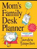 Mom's Family Desk Planner Calendar 2019
