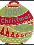 1000 Stickers: Christmas