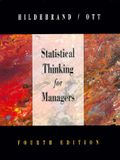 Statistical Thinking for Managers (Business Statistical)
