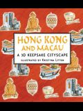 Hong Kong and Macau: A 3D Keepsake Cityscape