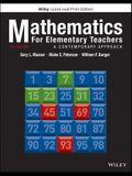 Mathematics for Elementary Teachers, Loose-Leaf Print Companion: A Contemporary Approach
