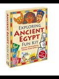 Exploring Ancient Egypt Fun Kit [With Coloring Books and Stickers and Poster and Stained Glass Coloring Sheets & Paper Dolls and Ta