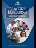 Teaching Excellence: The Definitive Guide to NLP for Teaching and Learning