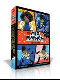 The Mia Mayhem Collection: Mia Mayhem Is a Superhero!; Mia Mayhem Learns to Fly!; Mia Mayhem vs. the Super Bully; Mia Mayhem Breaks Down Walls