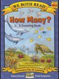 How Many? (We Both Read - Level Pk-K): A Counting Book