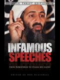 Infamous Speeches: From Robespierre to Osama bin Laden