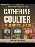 Catherine Coulter - FBI Thriller Series: Books 15-17: Split Second, Backfire, Bombshell