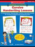 Overhead Teaching Kit: Cursive Handwriting Lessons: 12 Transparencies, Reproducibles, and Easy, Interactive Lessons for Teaching and Reinforcing Handwriting Skills