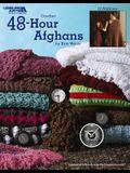 48-Hour Afghans (Leisure Arts #3694)