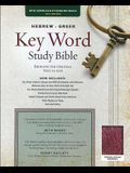 The Hebrew-Greek Key Word Study Bible: NASB-77 Edition, Burgundy Genuine Indexed