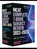 MCAT Complete 7-Book Subject Review 2022-2023: Books + Online + 3 Practice Tests