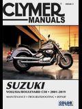 Suzuki Volusia/Boulevard C50 (2001-2019) Clymer Repair Manual: Maintenance * Troubleshooting * Repair