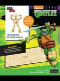 Incredibuilds: Teenage Mutant Ninja Turtles: Leonardo 3D Wood Model