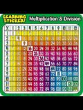 Multiplication & Division Learning Stickers!