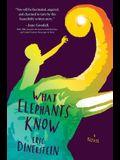What Elephants Know