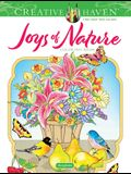 Creative Haven Joys of Nature Coloring Book