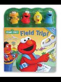 Sesame Street Field Trip! [With 4 Finger Puppets]