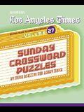 Los Angeles Times Sunday Crossword Puzzles, Volume 27
