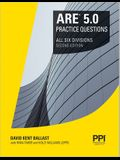 Ppi Are 5.0 Practice Questions All Six Divisions, 2nd Edition (Paperback) - Comprehensive Practice for the Ncarb 5.0 Exam