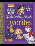 Paw Patrol Little Golden Book Favorites