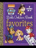 Paw Patrol Little Golden Book Favorites
