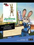 Incredibuilds: Disney: Zootopia 3D Wood Model