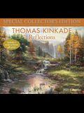 Thomas Kinkade Special Collector's Edition 2021 Deluxe Wall Calendar: Reflections