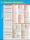 Japanese Vocabulary Sparkcharts, 33